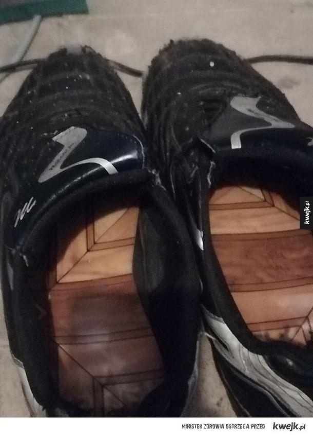 Wkładki do butów znajomego z pracy: