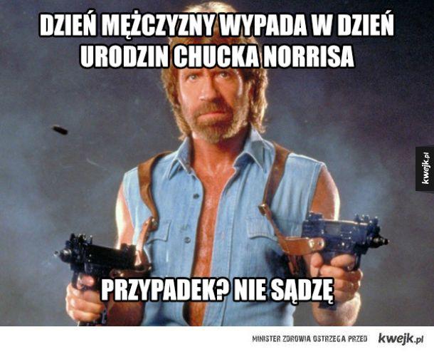 Fakty z życia Chucka Norrisa w dzień urodzin Chucka Norrisa