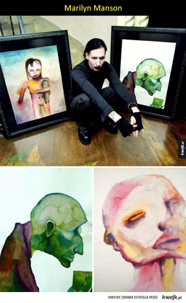 Znani ludzie, którzy przejawiali artystyczny talent także poza swoją dziedziną sztuki