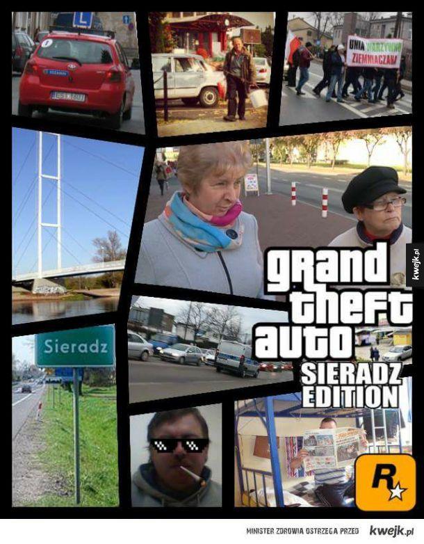 GTA dodatek: Sieradz edition