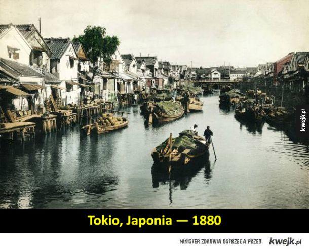 Jak wyglądały światowe metropolie około 100 lat temu