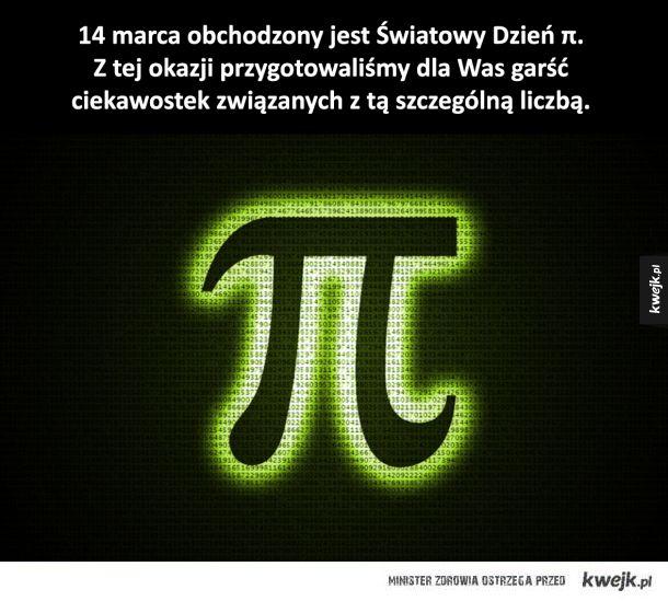 Ciekawostki o liczbie Pi