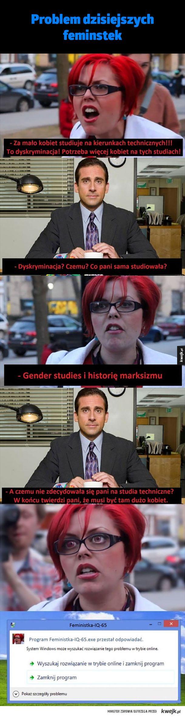 Ah te feministki