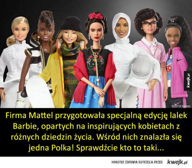 Nowe lalki Barbie w oparciu o autentyczne kobiety, w tym jedną Polkę!