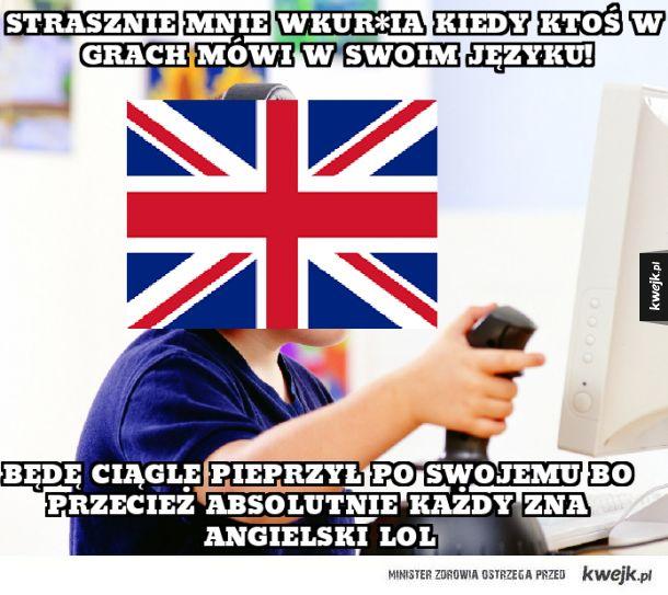 Typowy Brytyjczyk w grach multiplayer
