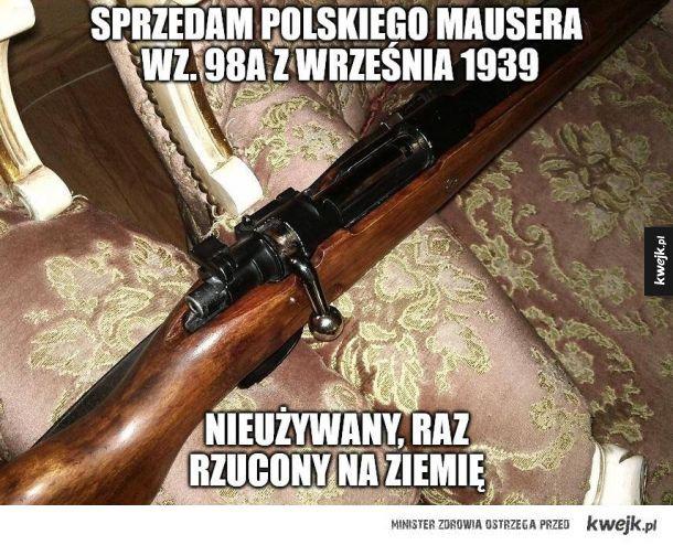 Nieużywany Mauser