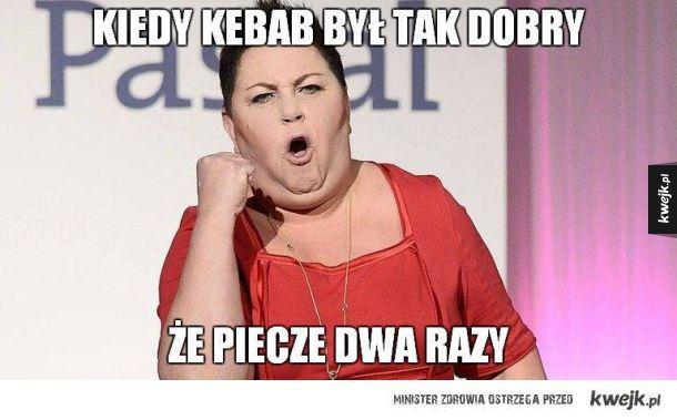 To był pyszny kebab