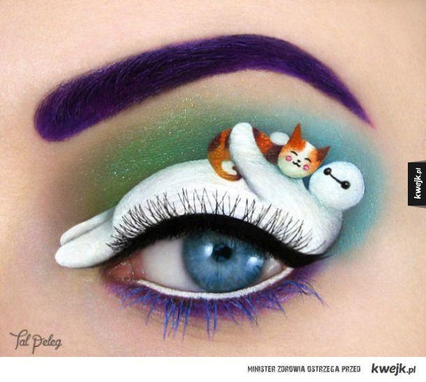 Epickie makijaże oczu