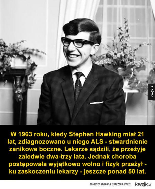 Ciekawostki o Stephenie Hawkingu