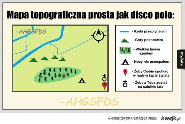 Mapa rodem z disco polo