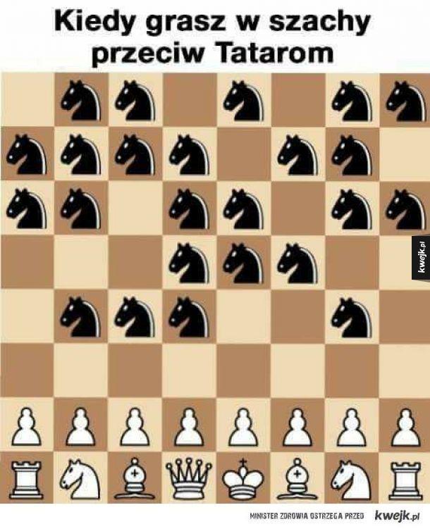 Szachy z Tatarami