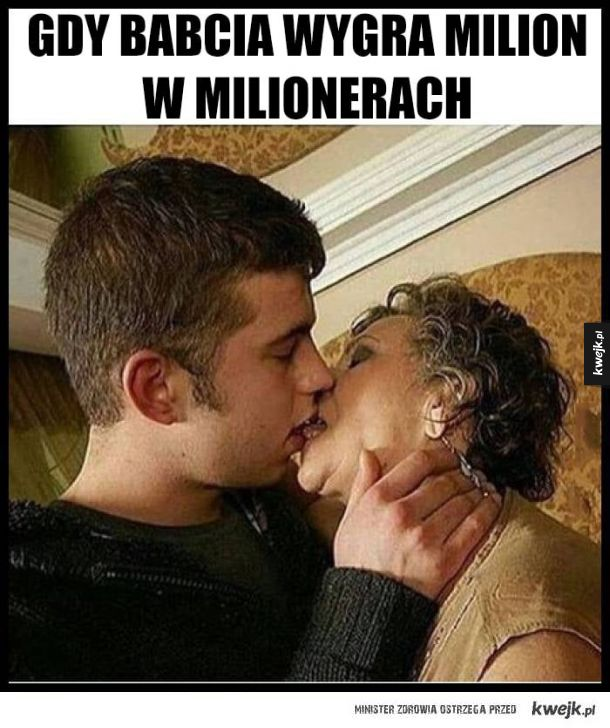 Babcia wygrała milion