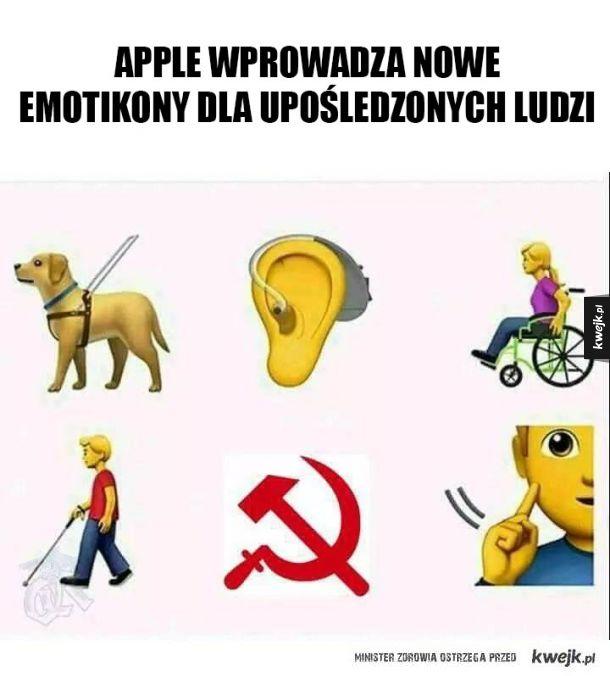 Nowe emotikonki