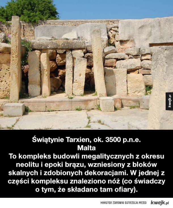 Najstarsze struktury i budowle stworzone przez ludzi