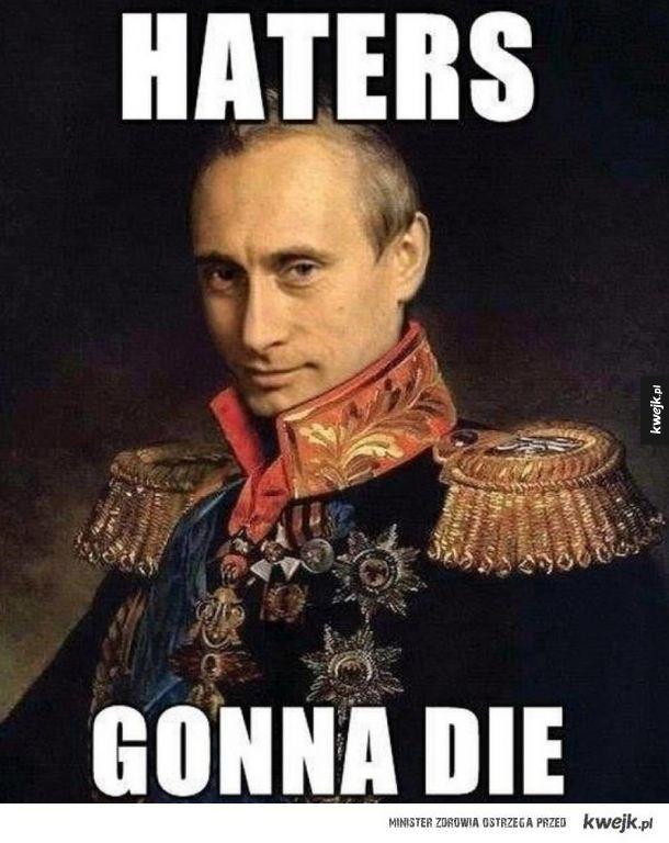 Władimir Putin wygrywa wybory - reakcja internautów