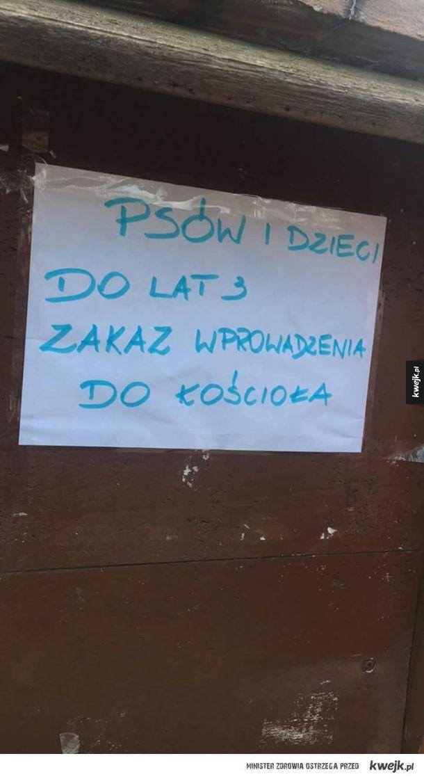 Tymczasem w jednej z parafii na terenie powiatu kraśnickiego