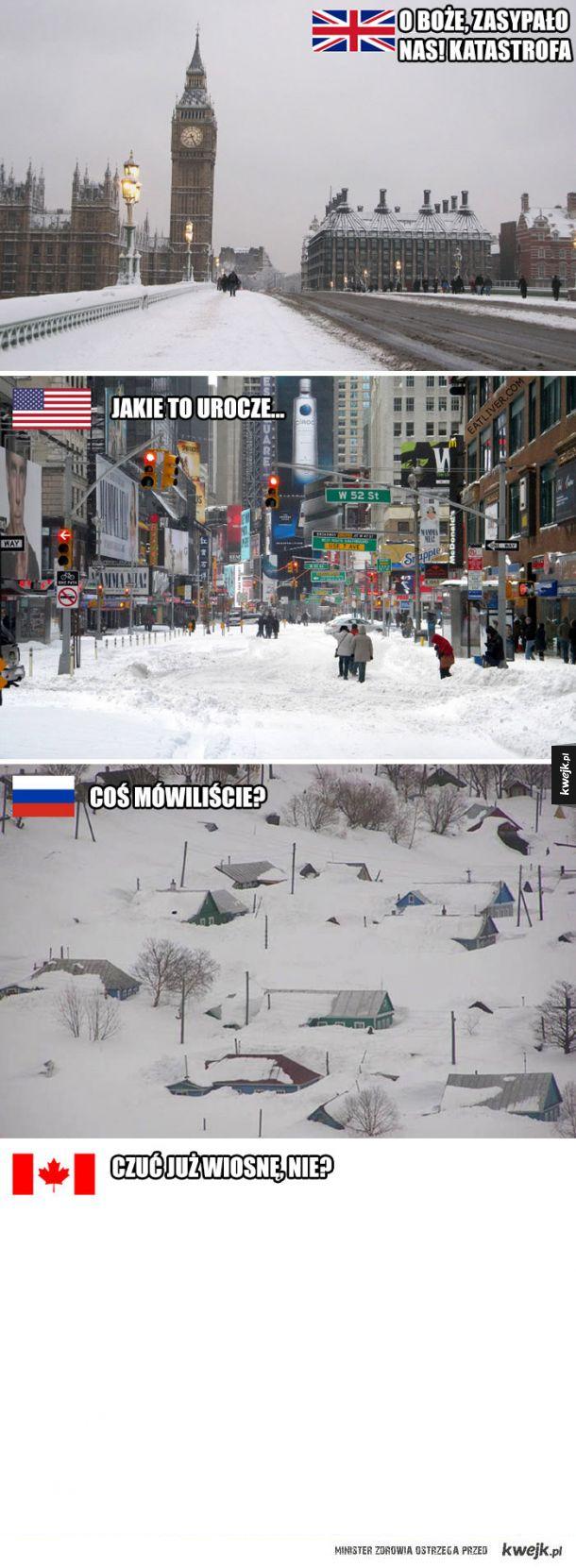 Zima zaskoczyła Brytyjczyków, a Internet się śmieje