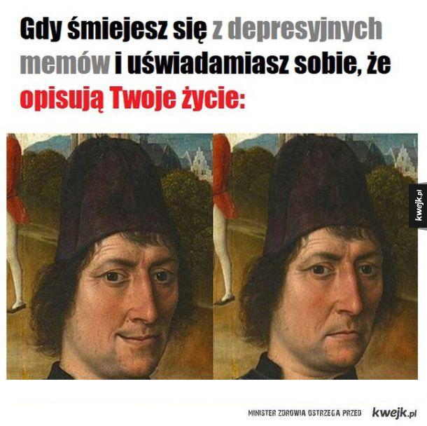 Depresyjne memy