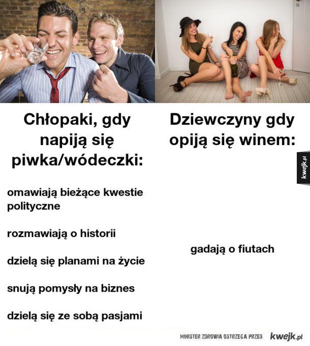 Faceci vs kobiety