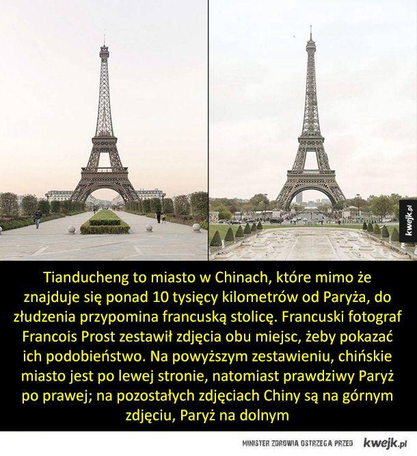 Chińczycy potrafią podrobić wszystko, nawet ...Paryż!