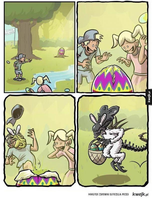 Uważajcie na jajka