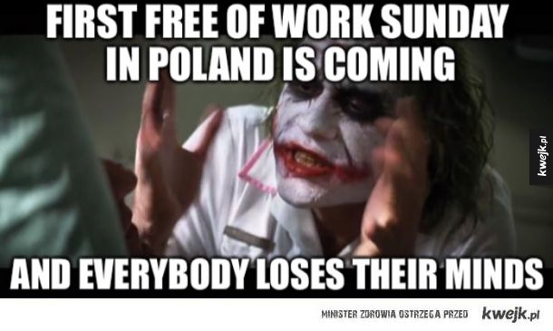 Pierwsza wolna niedziela