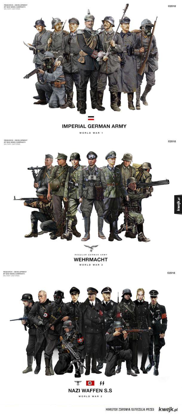 Niemcy ładnie się ubierali