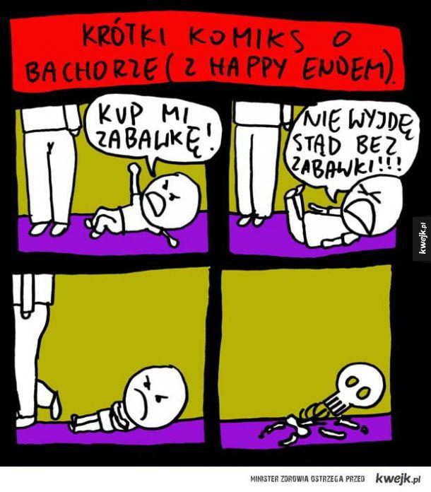 Komiks o bachorze
