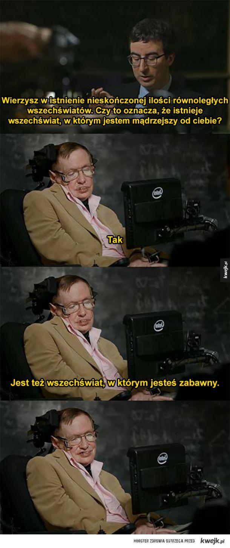 Hawking zaorał