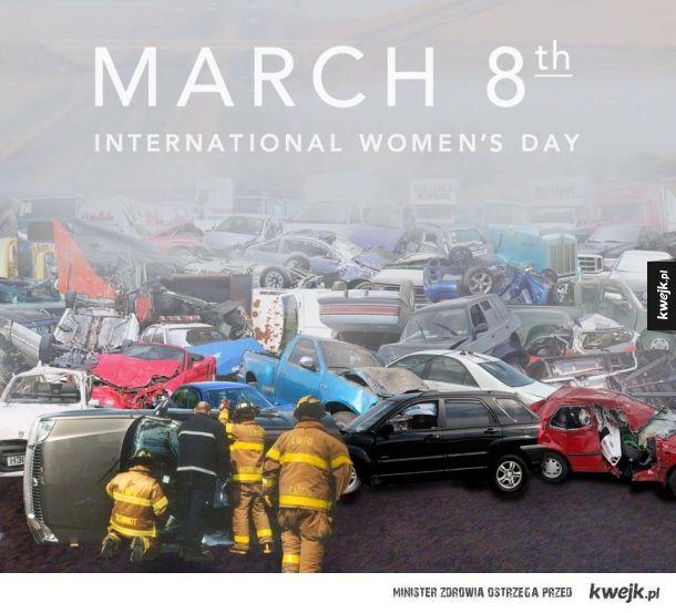 Święto kobiet na drogach