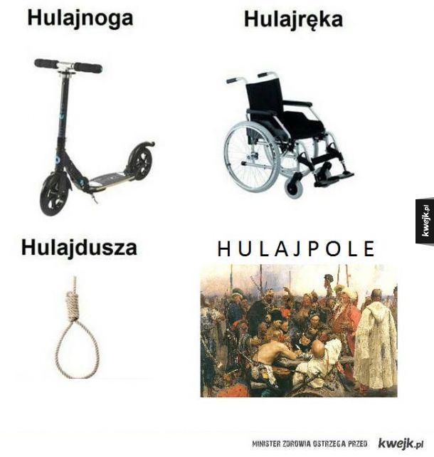Które hulaj wybierasz