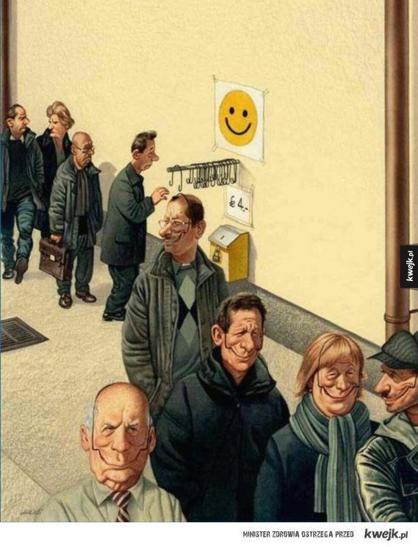 Współczesny świat w obrazach i ilustracjach Gerharda Hederera