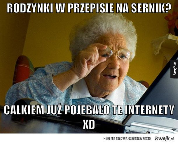 mądra babcia