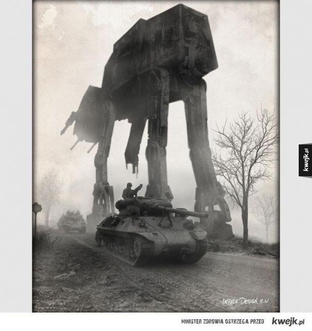 Połączenie II wojny światowej i Gwiezdnych Wojen