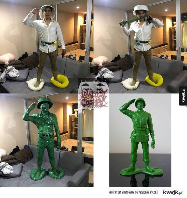 Army man cosplay