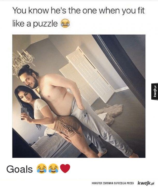 Kiedy pasujecie do siebie jak puzzle