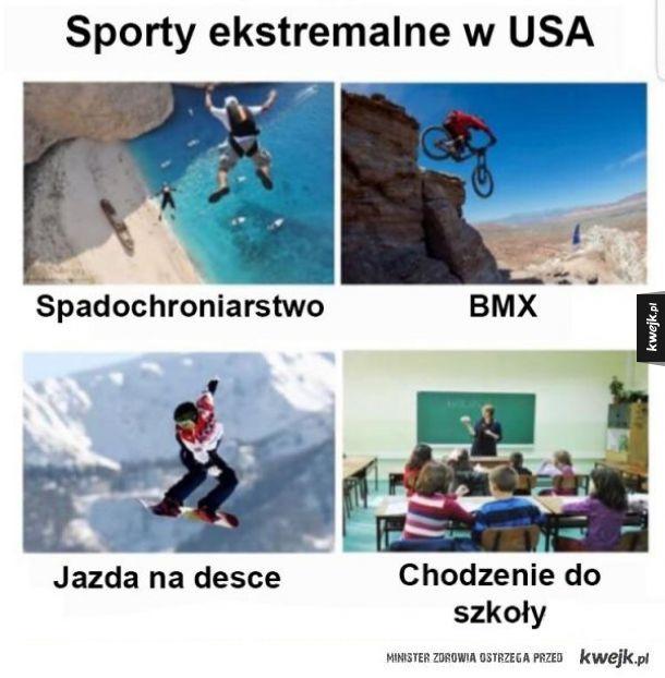 Sporty w USA