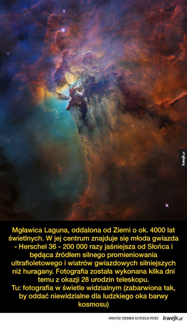 28 urodziny Kosmicznego Teleskopu Hubble'a - ciekawostki i zdjęcia
