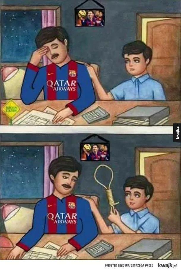 Pomoc dla kibica Barcelony