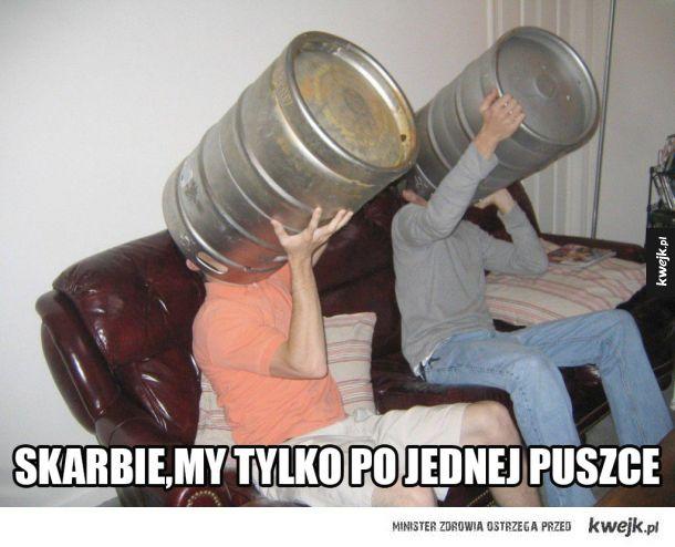 50 litrowa beczka piwa