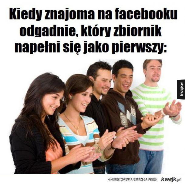 Quizy i zagadki na Facebooku xD