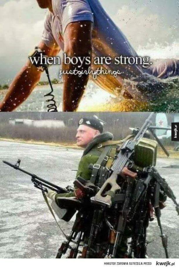 Silni chłopcy