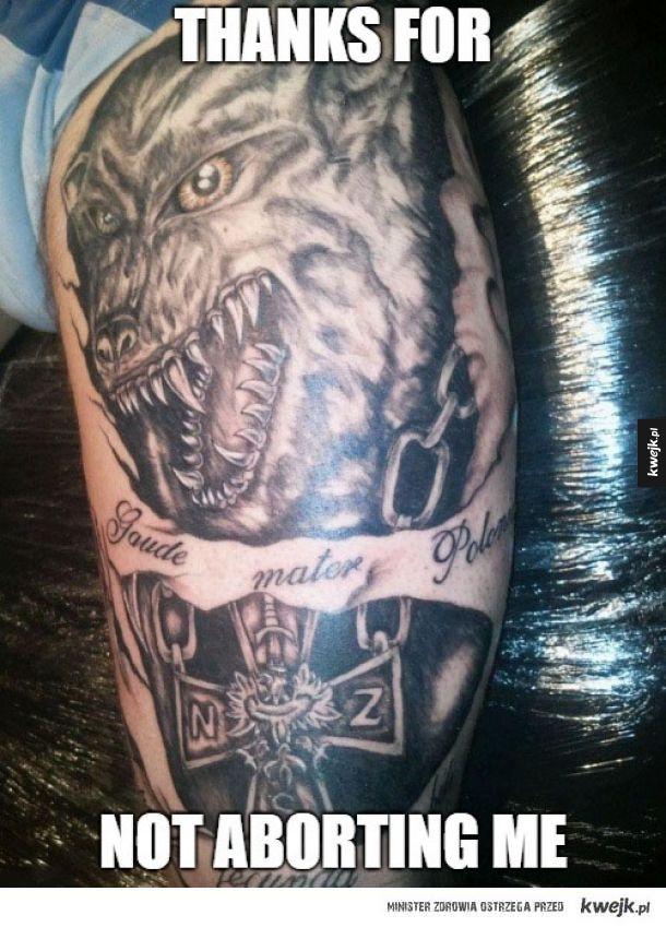 Ciekawy tatuaż