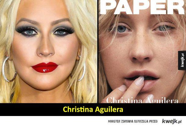 Celebrytki, które nie wahały się pokazać bez makijażu