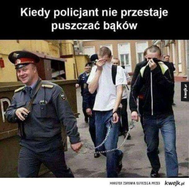 Cholerny policjant