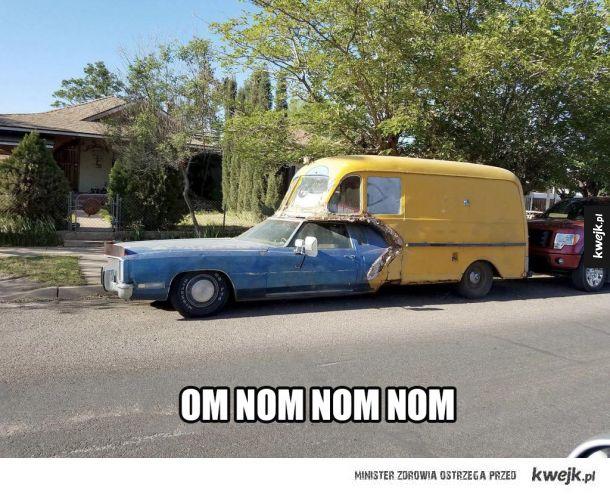 nietypowy samochód