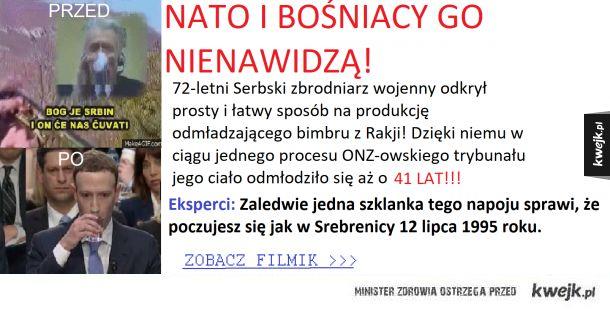 NATO I BOŚNIACY GO NIECIERPIĄ!