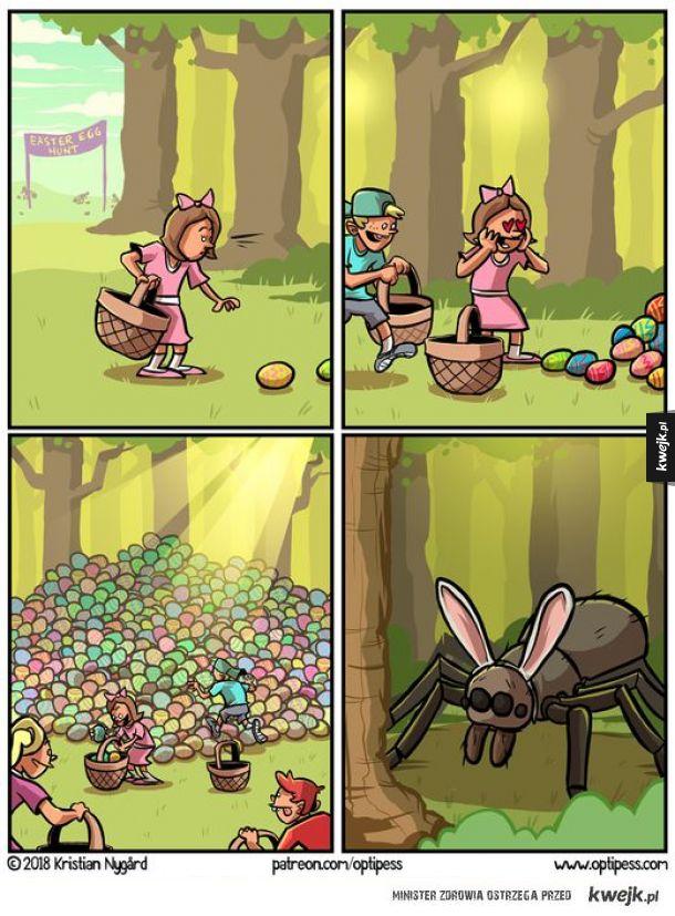 Poszukiwanie jajeczek ;3