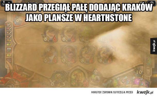 Nowa mapa w Hearthstone