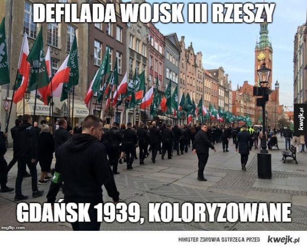 Marsz w Gdańsku